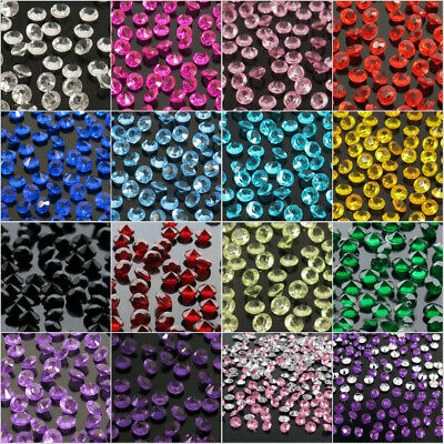 Wedding Supply 5000pcs 4.5mm Diamond Party Decor Table Confetti Crystal Acrylic - Wedding Table Decor