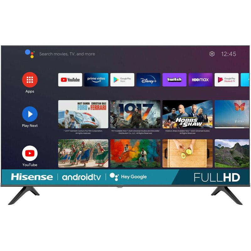 "Hisense H55 Series 43""  Full HD Wall-Mountable  Android Smart  LED TV - 43H5580G"