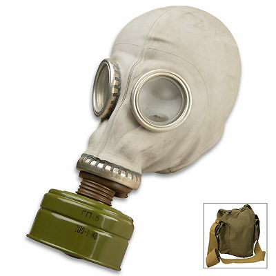 Russian Military Adult NBC Gas Mask - New Sealed Filter Never Worn