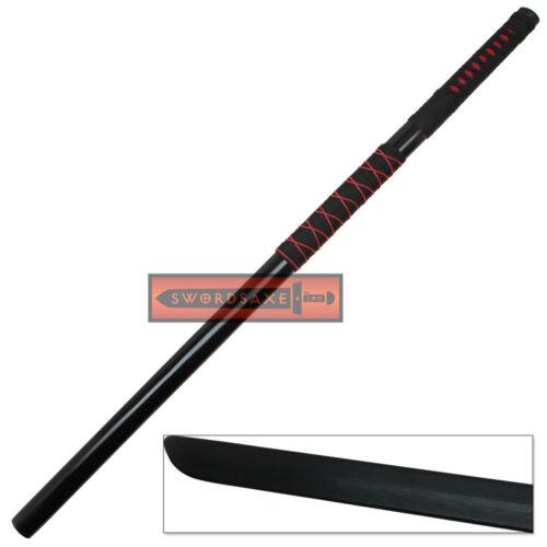 Japanese Anime Hatake Kakashi Ninja Straight Blade Samurai Katana Sword Cosplay