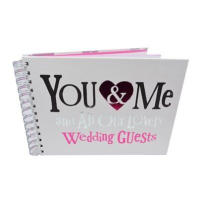 Boda Invitados Libro ~ ' You&Me y Todos Nuestro Precioso Invitados'