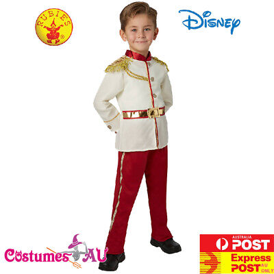 Boys Prince Charming Kids Costume Disney Child Royal Fairy Tale School Book Week