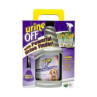 Urine Off Dog Clean Up Kit W/ Urine Finder Light