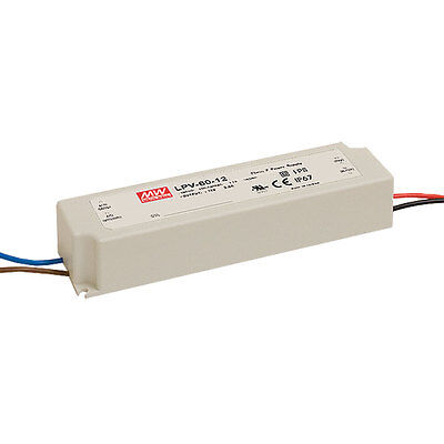 Mean Well Lpv-60-12 Ac Dc Led Power Supply 60 Watt Us Distributor