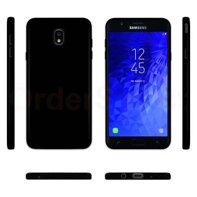 - Ultra Slim Protector Plastic Phone Case BLACK for Samsung Galaxy J7 (2018)