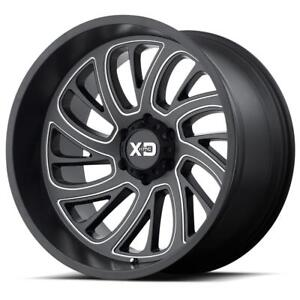 "BLOWOUT! 22x12 XD826 ""Surge"" $1250/SET OF 5 WHEELS!! JEEP Wrangler JK JL 5x127 bolt pattern!"