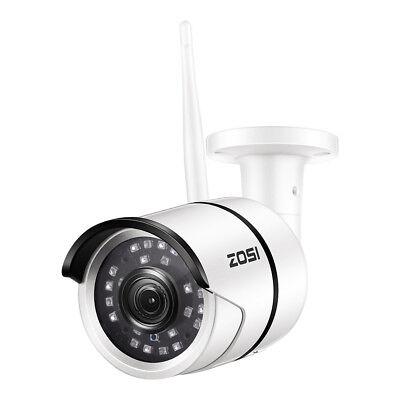 Night Ir Ip Bullet (ZOSI 1080P Wireless WIFI IP Camera Onvif Outdoor Security Bullet IR Night)