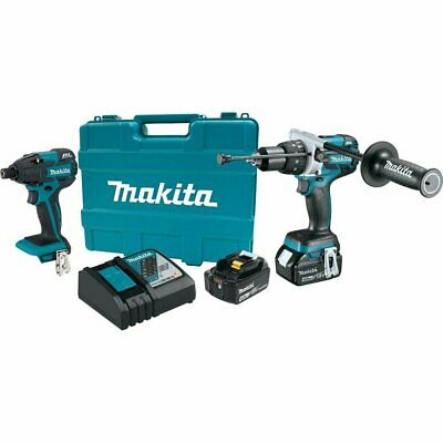 New Makita Usa Xt257mb 18v Brushless Combo Kit