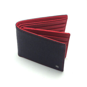 New Mens Wallet KOREA 214 Star Leather Credit Card Holder Bifold Purse So Hot ★