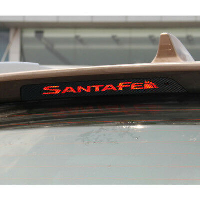 FITS HYUNDAI SANTA FE IX45 Brake Light Black Carbon Fibre Sticker Decal Vinyl Brk-carbon
