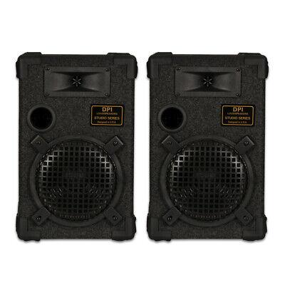 "GOLDWOOD DPI-800C/8 Passive 8"" Speaker Pair Monitor Studio Home Audio"