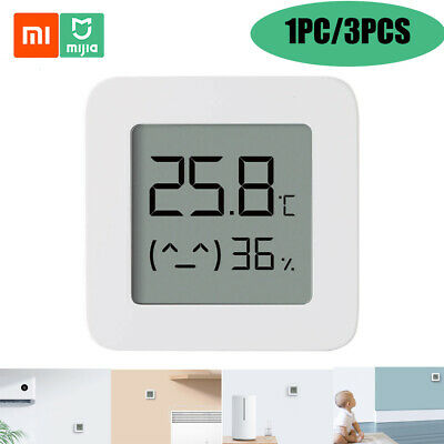 1/3 PCS Mi Bluetooth Thermometer Hygrometer 2 LCD Humidity T