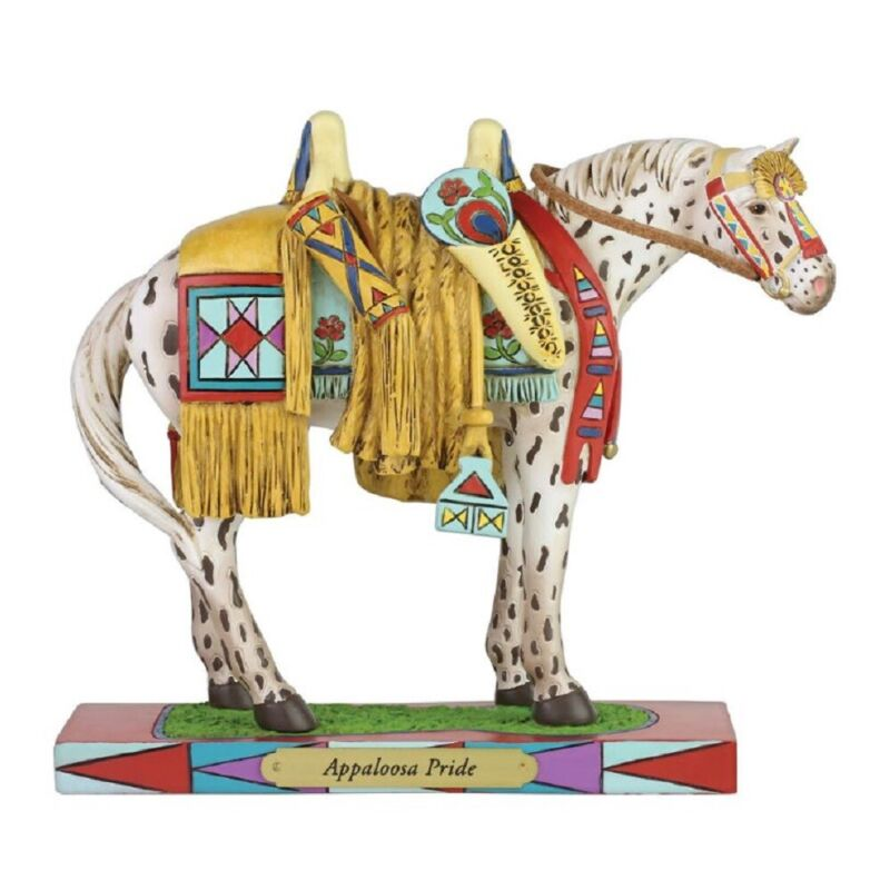 The Trail of Painted Ponies Appaloosa Pride Horse Figurine 6006151 New