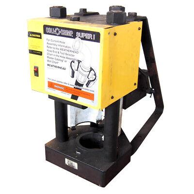 Eaton Weatherhead Coll-o-crimp Super 1 Press - Supersedes T-420-1