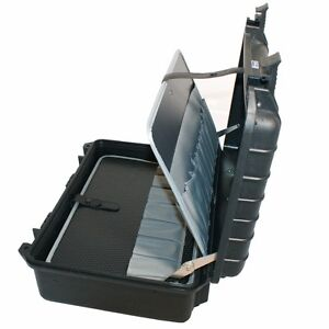 elektriker sanit r handwerker werkzeug koffer kiste lager tool box case 61447 ebay. Black Bedroom Furniture Sets. Home Design Ideas