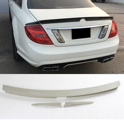FRP Spoiler Heckspoiler Flügel Abrisskante Lippe für Mercedes W216 CL63AMG 09-12