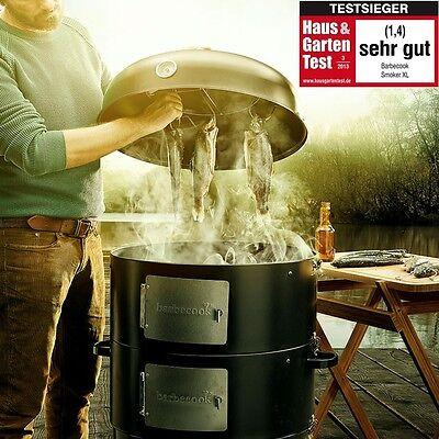 Barbecook Smoker XL Räucherofen 3 in 1 Watersmoker BBQ Grill und Feuerstelle NEU