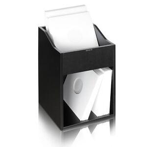 Zomo VS-Box 100/2 schwarz Vinyl Regal Schallplattenregal Schallplattenbox LP-Box
