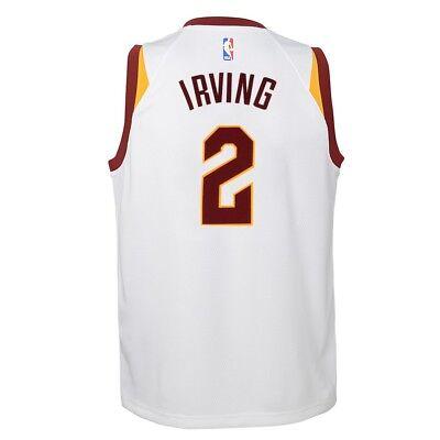 Kyrie Irving Cleveland Cavaliers Nike White Association Swingman Jersey Youth Cleveland Cavaliers Swingman Jerseys