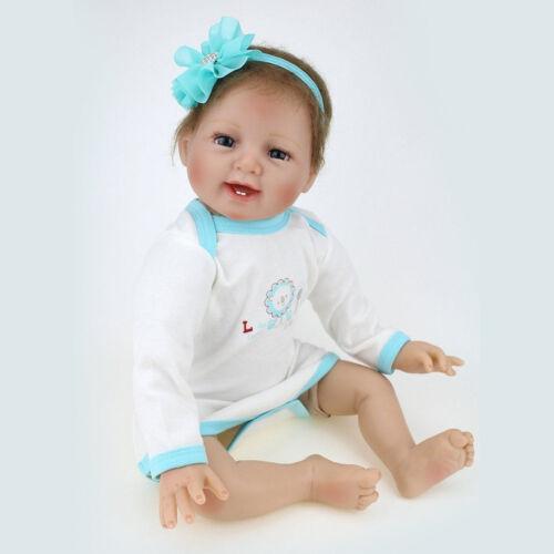 Realistic Reborn Dolls Handmade Vinyl Silicone Lifelike Newborn Baby Xmas Gifts
