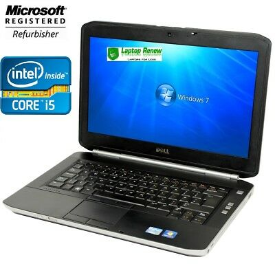 "Dell Laptop Window 7 PRO 1 YR WTY-14"" LCD Intel I5 2.5 4GB 250GB NEW BATTERY"