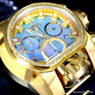 Invicta Reserve Bolt Zeus Magnum Chronograph Diamond MOP Swiss Mv 52 mmWatch New