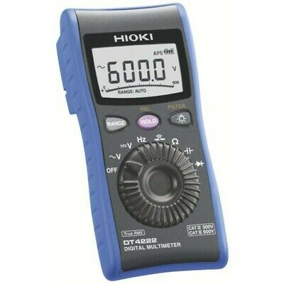 Hioki Dt4222 Digital Multimeter General-purpose Type Cresistance Measurement
