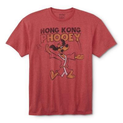 Hanna Barbera Hong Kong Phooey Red Heather Tee Mens L Large Graphic T Shirt New