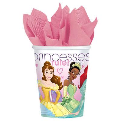 Disney Princess Party Tableware (Disney Princess Dream Big - Paper Cups [8ct]  Birthday Party Supplies)