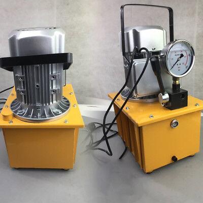 750w 110v 7l Electric Driven Hydraulic Pump 10000psi 1400rmin W 1.8m Oil Hose