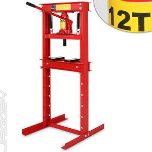 Werkstattpresse 12 t Hydraulikpresse Lagerpresse Hydraulisch Presse Dornpresse