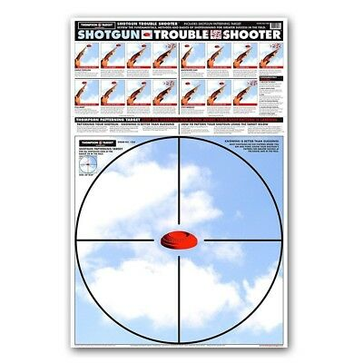 Thompson Target Shotgun Trouble Shooter Paper Patterning Targets - 25