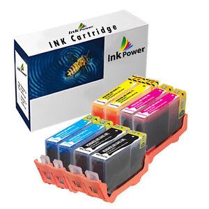 2 Sets of 4 NonOEM Ink Cartridges For HP 364XL Photosmart B109a B109n