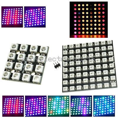 4164064bit Ws2812 Matrix Led 5050 Rgb Full-color Driver Board For Arduino