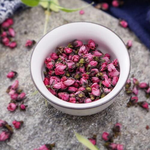 Tè floreale naturale del fiore del fiore della pesca secca organica 500g