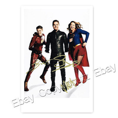 Grant Gustin, Stephen Amell & Melissa Benoist | Flash, Arrow Supergirl Autogramm