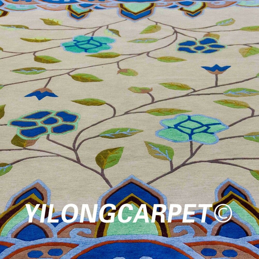 Yilong 6 X9 Nepal Handmade Wool Rugs
