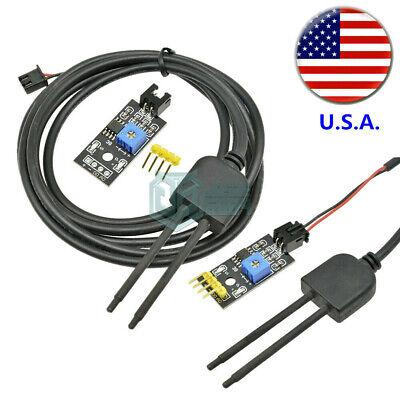 Soil Humidity Hygrometer Moisture Detection Sensor Module For Arduino Wire