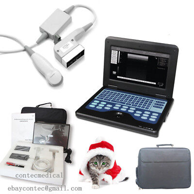 New Digital Veterinary Ultrasound Scanner Portable Laptop Machine Vet 3.5m Probe