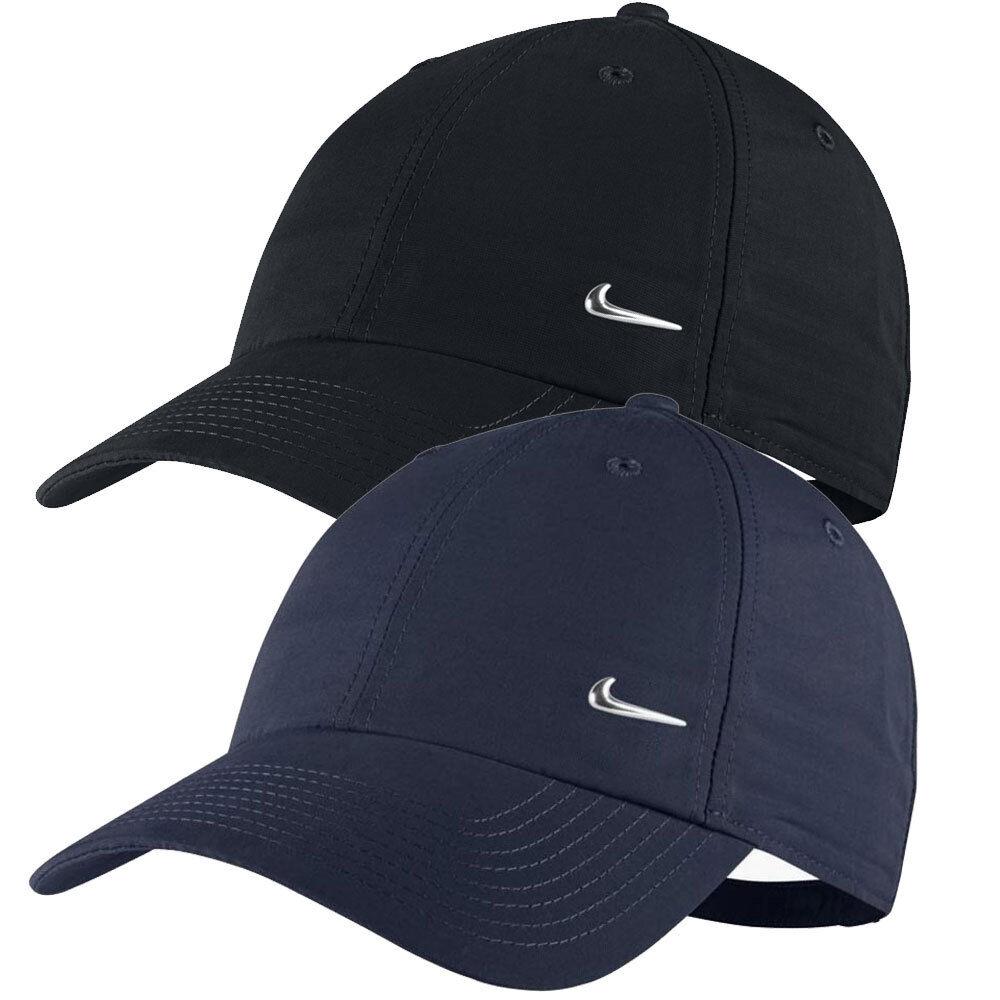 Nike Metal Swoosh Cap Kappe Basecap Mütze Cappy Damen Herren Kinder