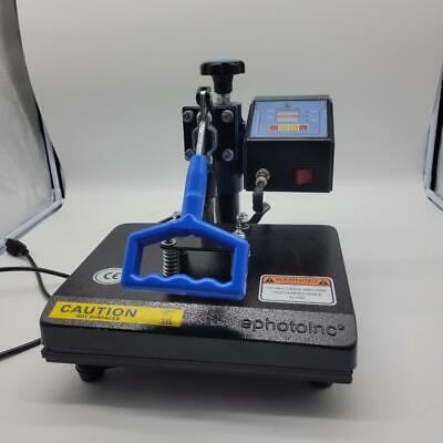 Ephotoinc New T Shirt Transfer Heat Press Machine 12 X 9 Zp9blk