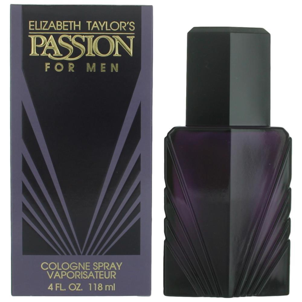 Passion Cologne by Elizabeth Taylor 4 oz Cologne Spray for M