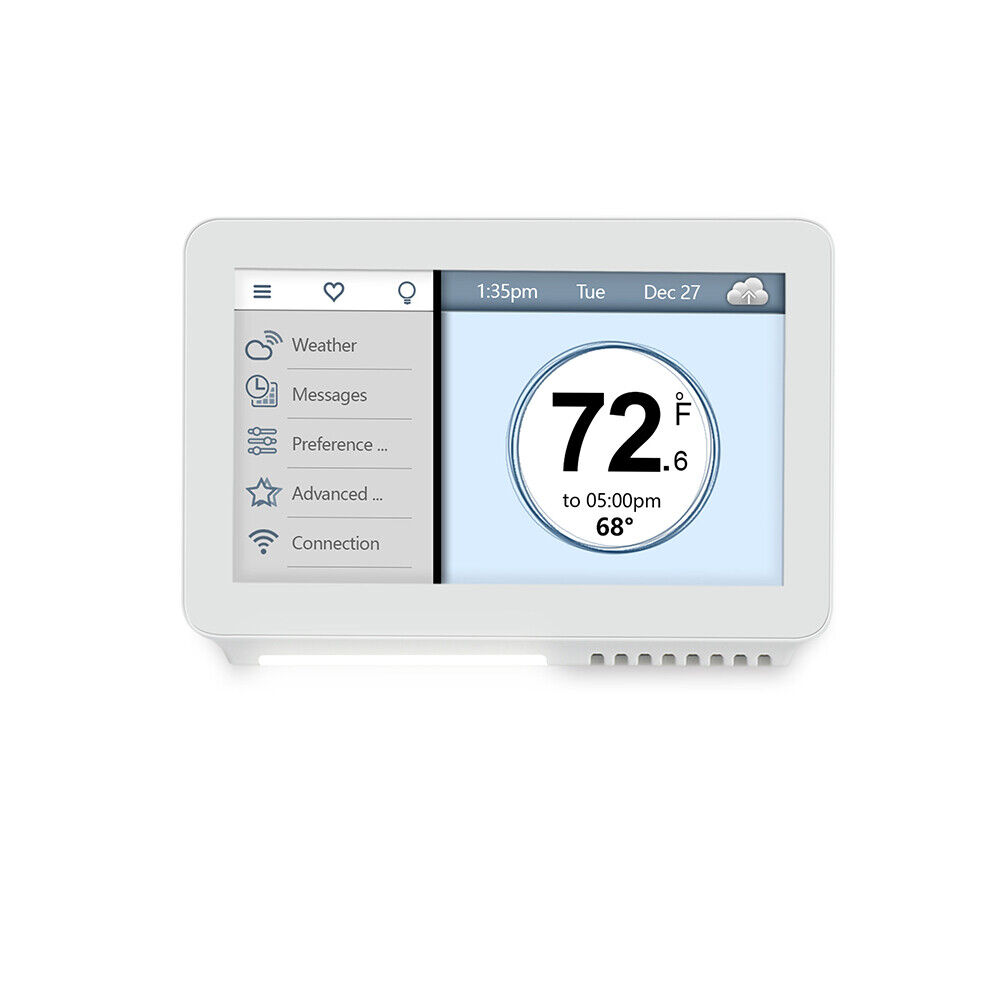 Vine Smart Wi-Fi TJ-919 Smart Thermostat with Touchscreen an