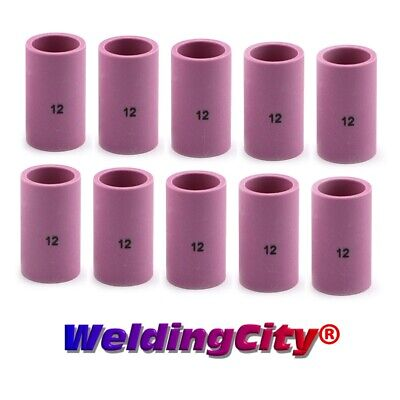 Weldingcity 10-pk Gas Lens Cup 54n14-12 12 34 Tig Welding Torch 171826 Usa