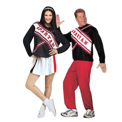 SNL Spartan Cheerleader Costume Set](Snl Spartan Costume)