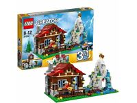 LEGO Creator 31025: Mountain Hut. Brand new and unopened