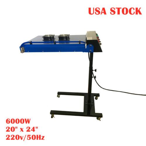 "US-6000W 20"" x 24"" Automatic Silk Screen Printing IR Flash Dryer with Sensor"