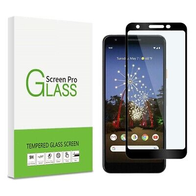 Google Pixel 3A XL Screen Protector Best Tempered Glass 100% Full Protection (Best Pixel Xl Glass Screen Protector)