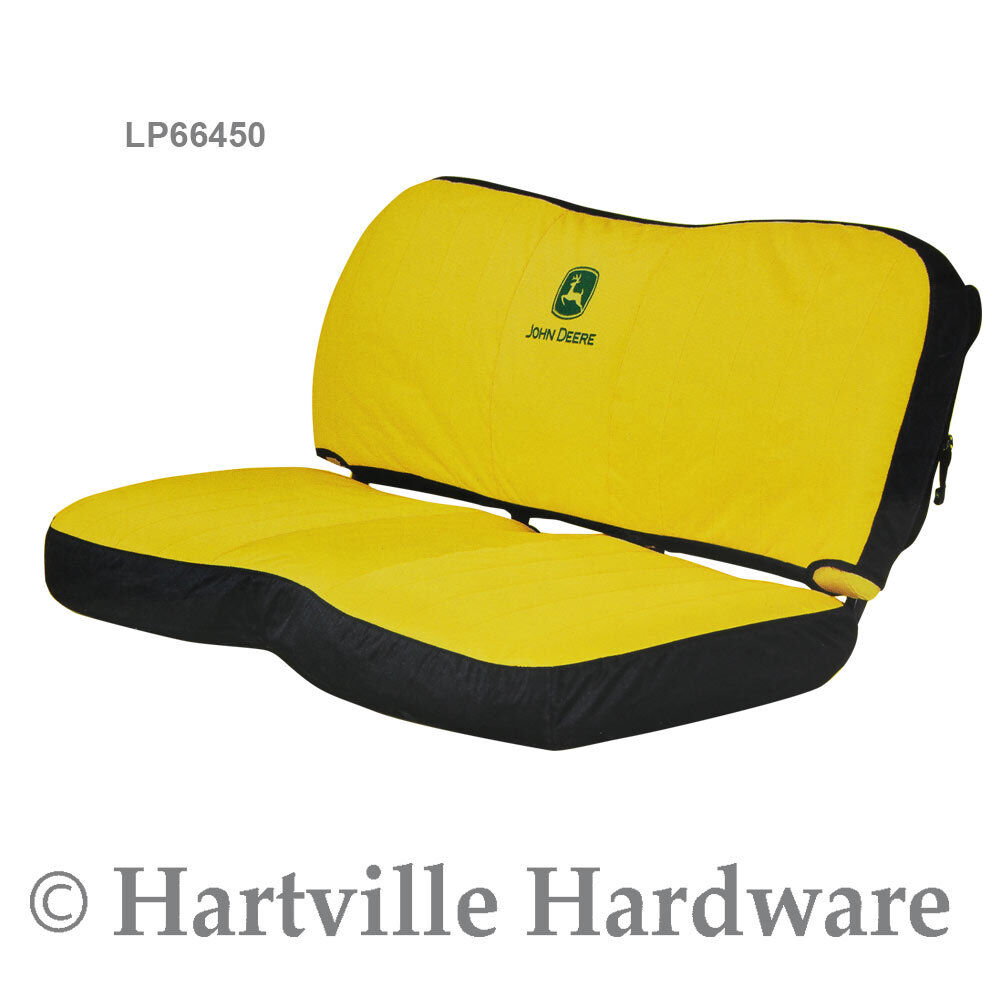 Pleasing Details About John Deere Lp66450 Gator Hd Xuv Bench Seat Cover Yellow Machost Co Dining Chair Design Ideas Machostcouk