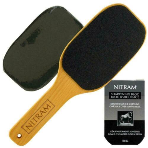 Nitram Charcoal Sharpening Bloc